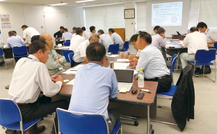 【日本海ガス絆ホールディングス株式会社様】ストレスチェックの結果を活かす研修『健康いきいき職場づくりワーク』 NEW北陸内観だより No.15 (4)